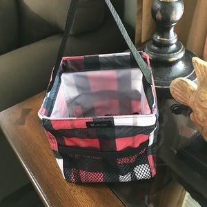 f53c2c7e22c4 Thirty-One Littles Carry-All Caddy-Checkmate NWT